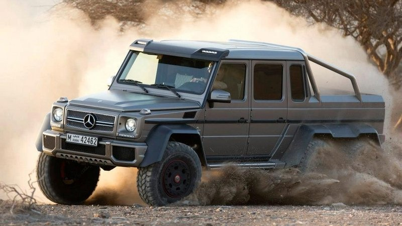 Mercedes-Benz G63 AMG 6×6 Sold Out