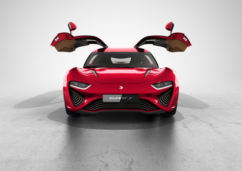 2015 NanoFlowcell Quant F Gullwing Electric Sports Coupe High Resolution Exterior - image 616076