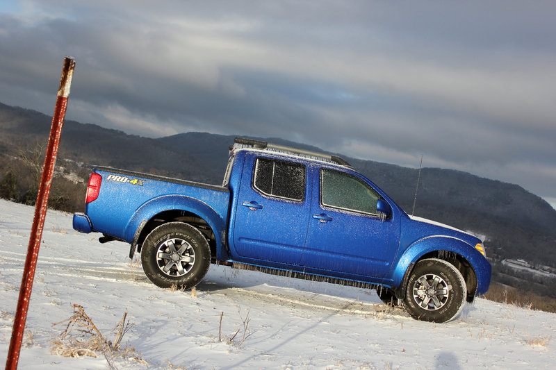 2015 Nissan Frontier Pro4X - Driven