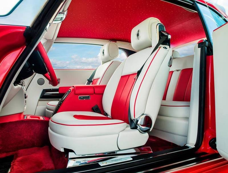 2015 Rolls-Royce Phantom Coupe Al-Adiyat Collection Interior - image 618802