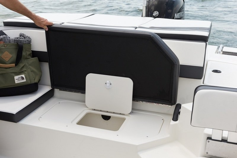 2015 Sea Ray 19 SPX Outboard Interior - image 615840