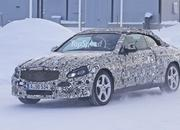 Spy Shots: Mercedes C-Class Convertible Goes Winter Testing - image 615921