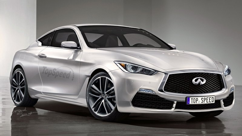 Standard Infiniti Q60 Will Deliver 400 HP; More Powerful Version Will Follow