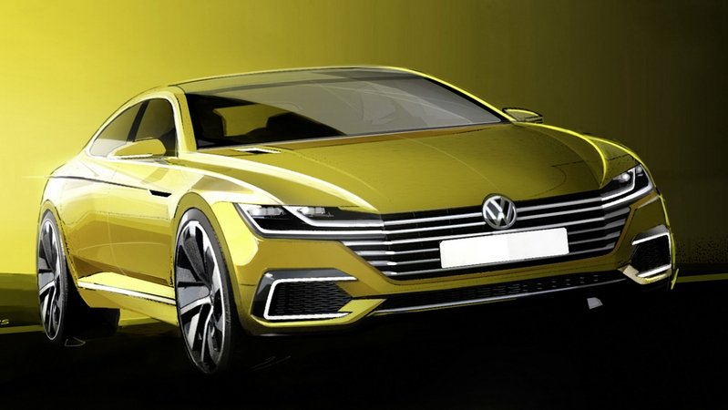 2015 Volkswagen Sport Coupe Concept GTE Exterior Drawings - image 618763