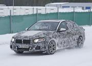 BMW 1 Series Sedan Caught Winter Testing: Spy Shots - image 619440