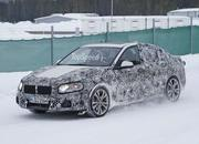 BMW 1 Series Sedan Caught Winter Testing: Spy Shots - image 619441