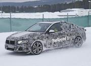 BMW 1 Series Sedan Caught Winter Testing: Spy Shots - image 619442