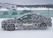 BMW 1 Series Sedan Caught Winter Testing: Spy Shots - image 619443