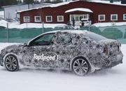 BMW 1 Series Sedan Caught Winter Testing: Spy Shots - image 619447