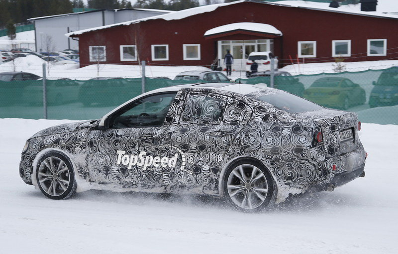 BMW 1 Series Sedan Caught Winter Testing: Spy Shots Exterior Spyshots - image 619447