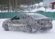BMW 1 Series Sedan Caught Winter Testing: Spy Shots - image 619448