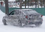 BMW 1 Series Sedan Caught Winter Testing: Spy Shots - image 619449