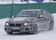 BMW 1 Series Sedan Caught Winter Testing: Spy Shots - image 619439