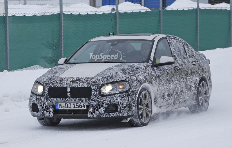 BMW 1 Series Sedan Caught Winter Testing: Spy Shots Exterior Spyshots - image 619439