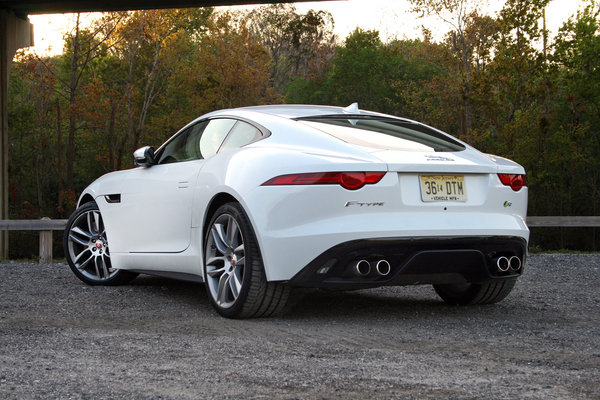 2015 jaguar f type r coupe driven car review top speed. Black Bedroom Furniture Sets. Home Design Ideas