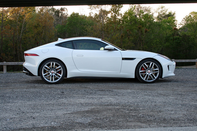 2015 jaguar f type r coupe driven review top speed. Black Bedroom Furniture Sets. Home Design Ideas