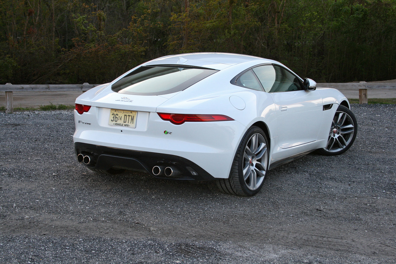 2015 jaguar f type r coupe driven picture 621630 car review top speed. Black Bedroom Furniture Sets. Home Design Ideas