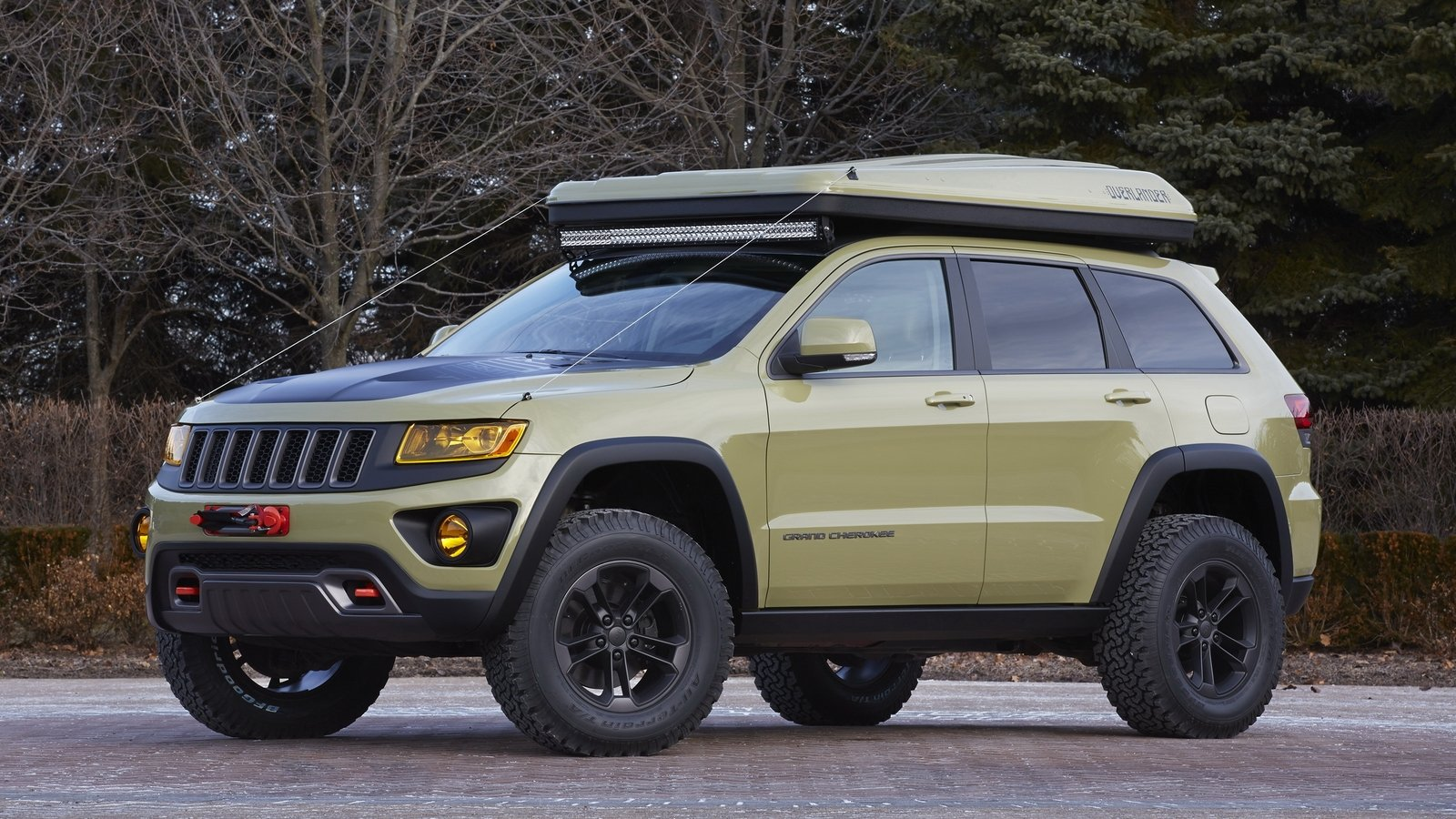 2015 Jeep Grand Cherokee Overlander Picture 622858