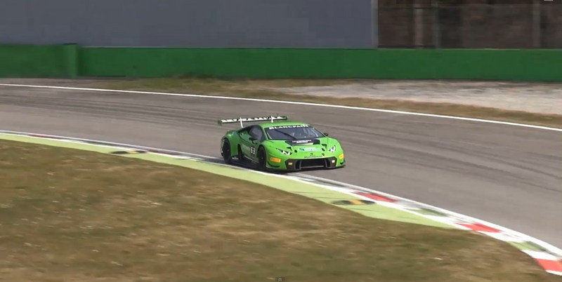 2015 Lamborghini Huracán GT3 In Action At Monza: Video