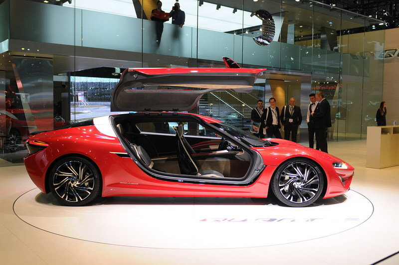 2015 NanoFlowcell Quant F Gullwing Electric Sports Coupe
