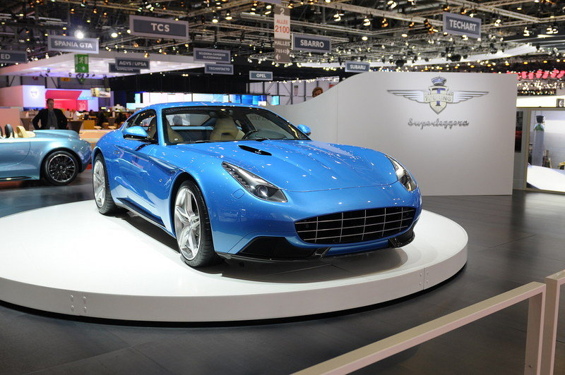 2015 Touring Superleggera Berlinetta Lusso