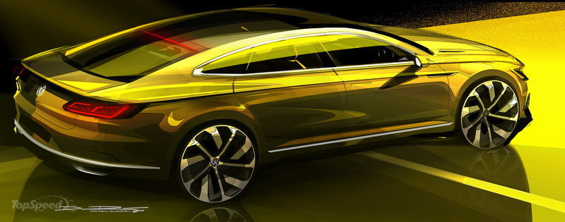 2015 Volkswagen Sport Coupe Concept GTE Exterior Drawings - image 619574