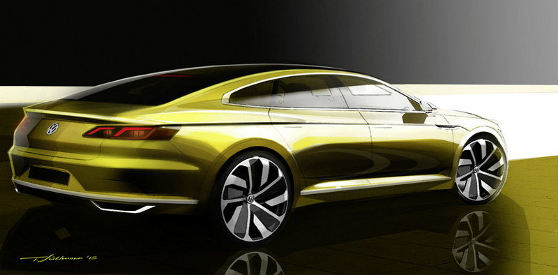 2015 Volkswagen Sport Coupe Concept GTE Exterior Drawings - image 619575