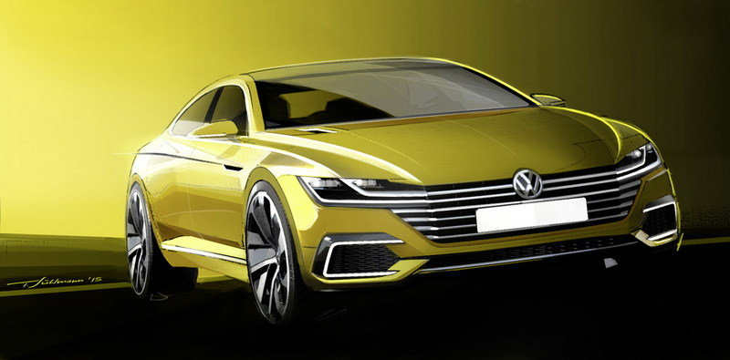 2015 Volkswagen Sport Coupe Concept GTE Exterior Drawings - image 619576