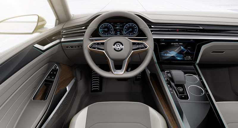 2015 Volkswagen Sport Coupe Concept GTE Interior Computer Renderings and Photoshop - image 619596