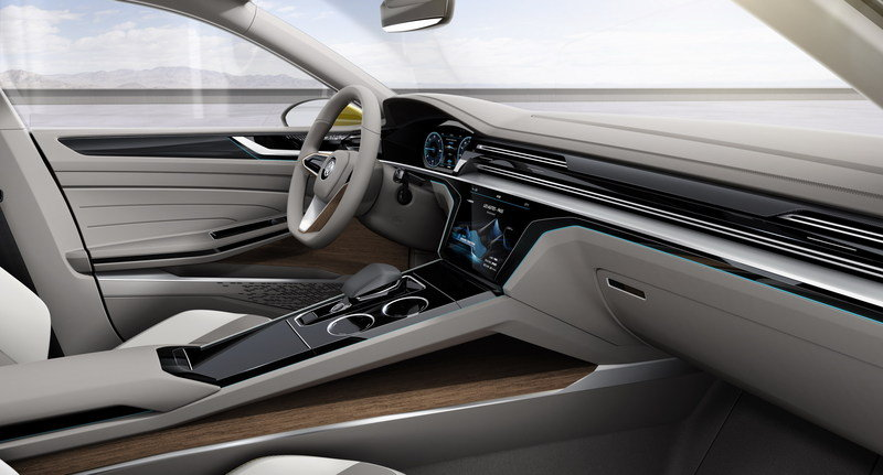 2015 Volkswagen Sport Coupe Concept GTE Interior Computer Renderings and Photoshop - image 619597
