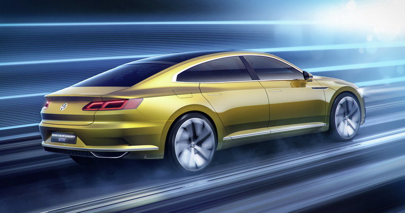 2015 Volkswagen Sport Coupe Concept GTE High Resolution Exterior Computer Renderings and Photoshop - image 619564