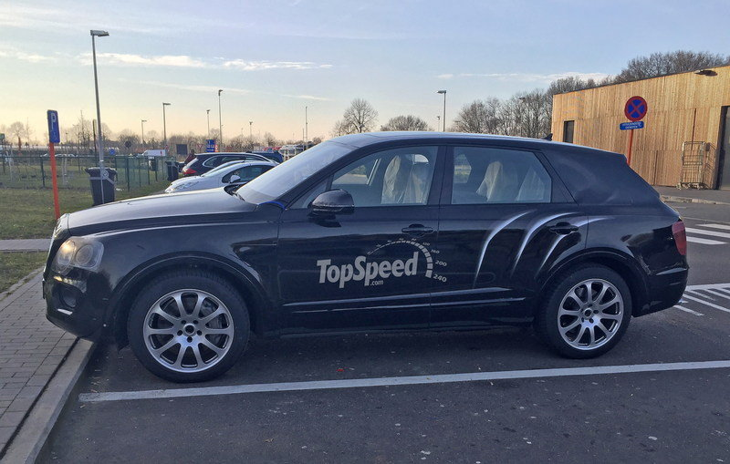 Bentley Bentayga Caught Almost Free Of Camouflage: Spy Shots