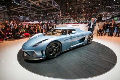 Every Koenigsegg Regera Goes Through A 0-186 MPH Test Before Being Delivered