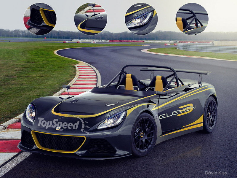 2016 Lotus 3-Eleven High Resolution Exterior Exclusive Renderings Computer Renderings and Photoshop - image 624292