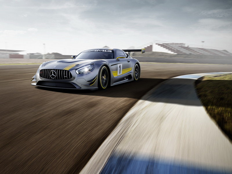 2016 Mercedes-AMG GT3 High Resolution Exterior Wallpaper quality - image 619803
