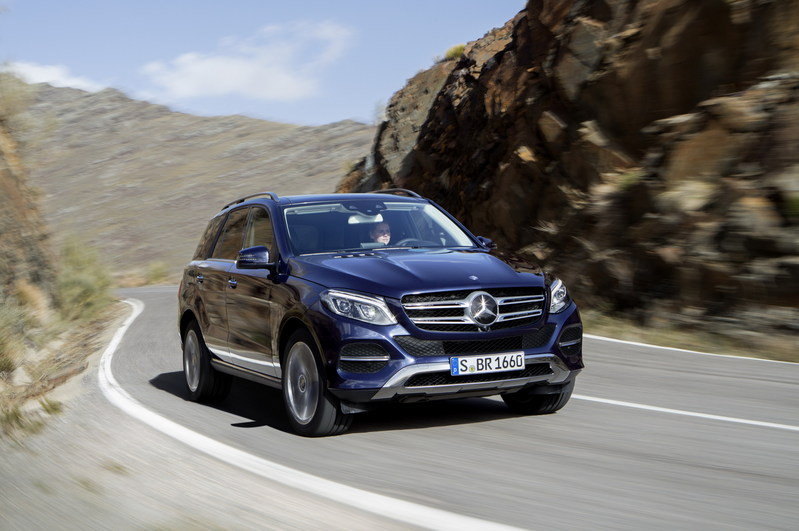 2016 Mercedes-Benz GLE High Resolution Exterior - image 623838
