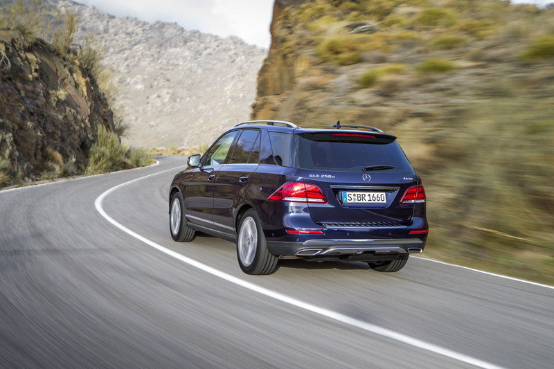 2016 Mercedes-Benz GLE High Resolution Exterior - image 623840
