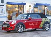 Mini JCW Convertible Shows Some Skin: Spy Shots - image 621277