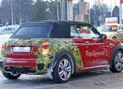 Mini JCW Convertible Shows Some Skin: Spy Shots - image 621278