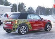 Mini JCW Convertible Shows Some Skin: Spy Shots - image 621279