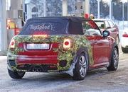 Mini JCW Convertible Shows Some Skin: Spy Shots - image 621280