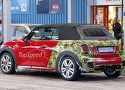 Mini JCW Convertible Shows Some Skin: Spy Shots - image 621281