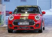Mini JCW Convertible Shows Some Skin: Spy Shots - image 621275