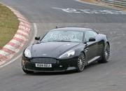 Aston Martin DB9 Successor Caught Playing On The Nurburgring: Spy Shots - image 623635