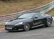 Aston Martin DB9 Successor Caught Playing On The Nurburgring: Spy Shots - image 623636