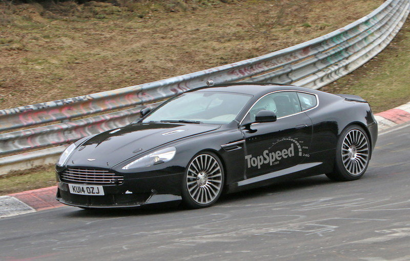 Aston Martin DB9 Successor Caught Playing On The Nurburgring: Spy Shots Exterior Spyshots - image 623636