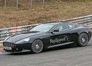 Aston Martin DB9 Successor Caught Playing On The Nurburgring: Spy Shots - image 623637