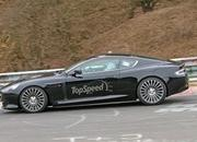 Aston Martin DB9 Successor Caught Playing On The Nurburgring: Spy Shots - image 623638