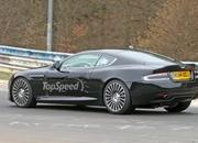 Aston Martin DB9 Successor Caught Playing On The Nurburgring: Spy Shots - image 623639