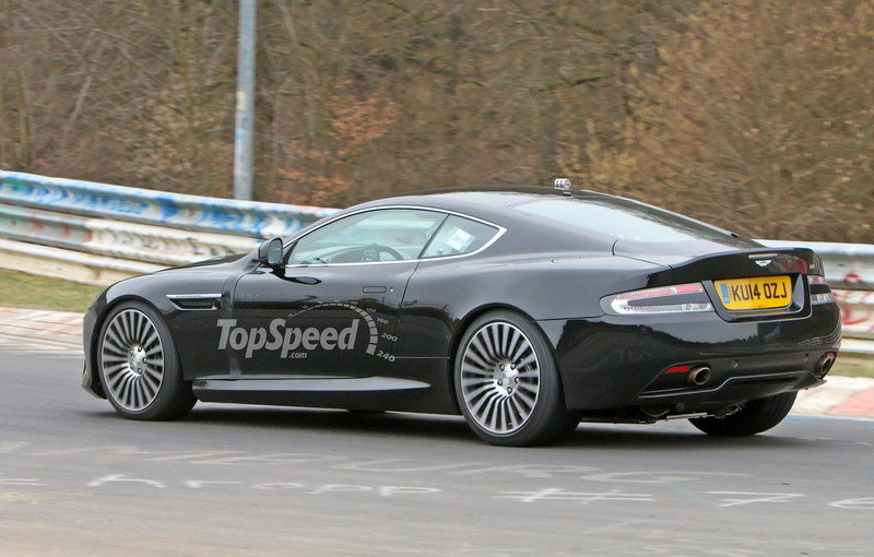Aston Martin DB9 Successor Caught Playing On The Nurburgring: Spy Shots Exterior Spyshots - image 623639